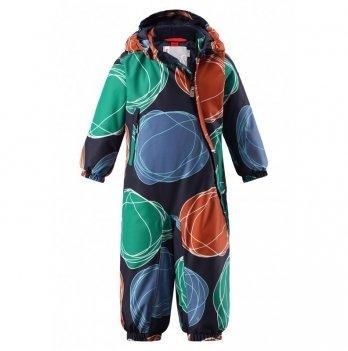 Комбинезон зимний для мальчика ReimaTec Loska, 510268, зеленый