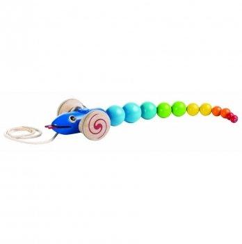 Деревянная игрушка-каталка PlanToys® Змейка