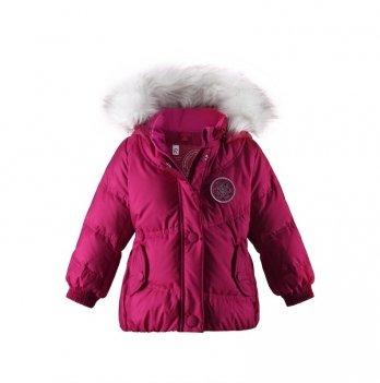 Куртка-пуховик для девочки Reima Arumina, вишневая, 511131