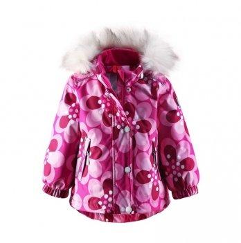 Куртка зимняя для девочки Reima Diadem, розовая