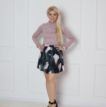 Юбка MBerry dress, цветочный принт