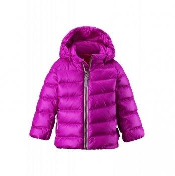 Куртка-пуховик для девочки Reima розовая, 511212
