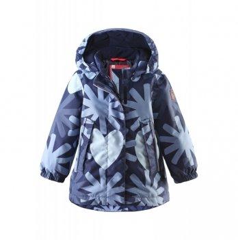 Куртка зимняя для девочки Reima 511216, темно-синяя