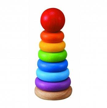 Деревянная игрушка PlanToys® Пирамидка