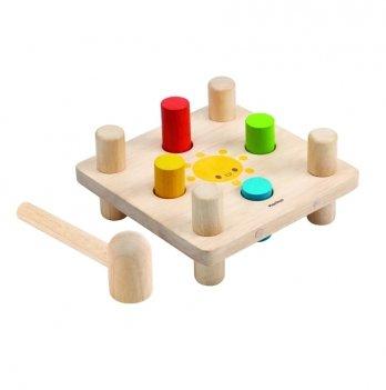 Деревянная игрушка PlanToys® Молоток и колышки