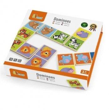 Настольная игра Viga Toys Домино Сафари 51307