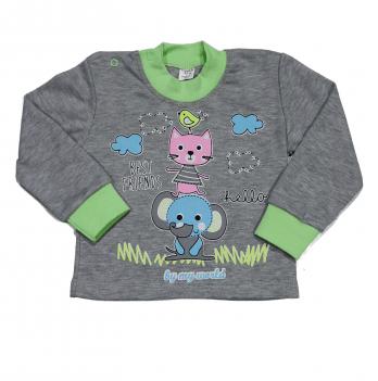 Джемпер для малышей Мій Світ Кот и слон