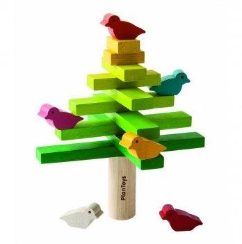 Деревянная развивающая игрушка PlanToys® Балансирующее дерево