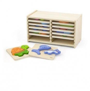 Набор пазлов Viga Toys 51423 12 шт