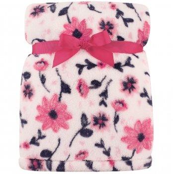Одеяло плюшевое Hudson Baby, Весенние цветы