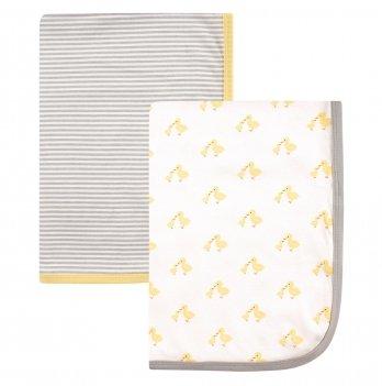 Одеяло пеленальное Hudson Baby, Утенок, 2 шт.