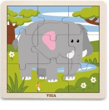 Пазл Viga Toys Слон 51441