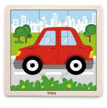 Пазл Viga Toys Автомобиль 51444