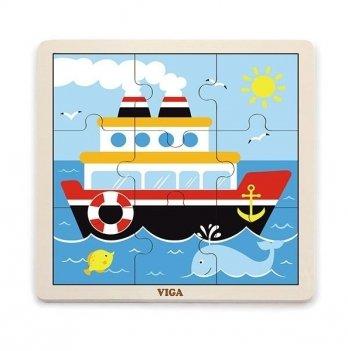 Пазл Viga Toys Корабль 51445