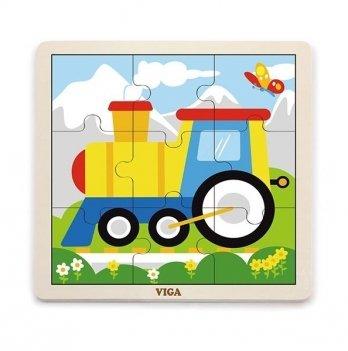 Пазл Viga Toys Паровоз 51446