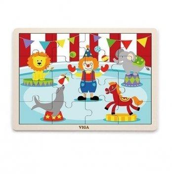 Пазл Viga Toys Цирк 51455