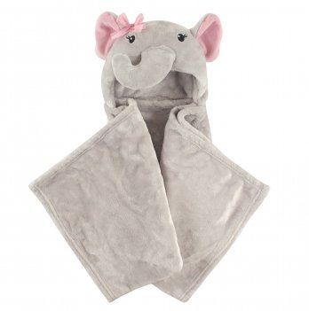 Одеяло-плед Hudson Baby, Слоник-девочка