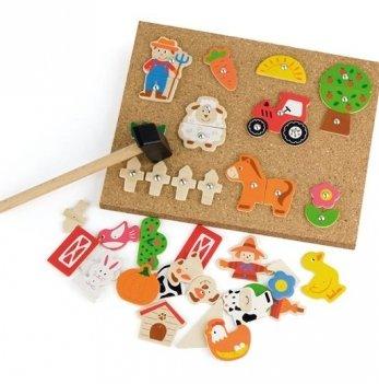 Набор для творчества Viga Toys Ферма 51606