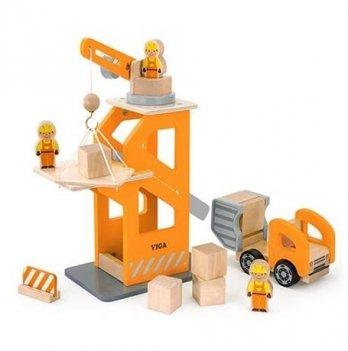 Игрушка набор Viga Toys Строительная площадка