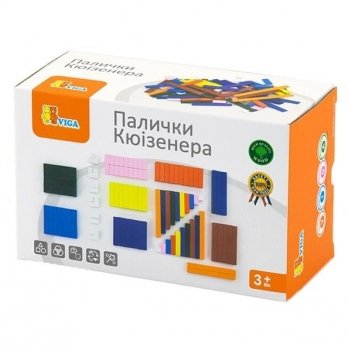 Набор для обучения Viga Toys Палочки Кюизенера 51765