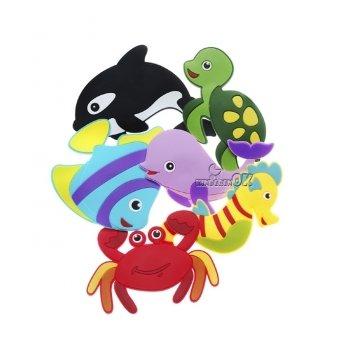 Игрушки для купания на присосках Kinderenok Fixi Морские животные 170717
