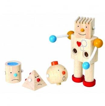 Деревянный конструктор PlanToys® Робот