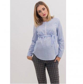 Блуза для беременных и кормящих To Be Голубой 1707224