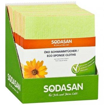 Салфетка-губка Sodasan ECO Sponge Cloth, 518, 2 шт.