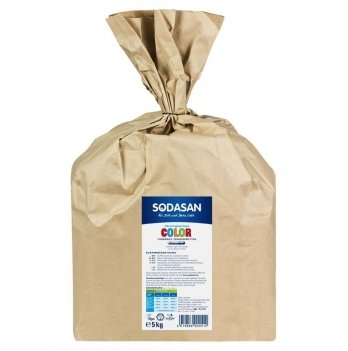 Органический стиральный порошок Sodasan Compact, 51, 5 кг