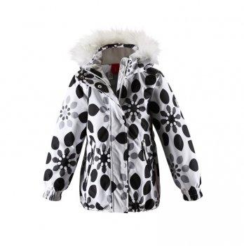 Куртка зимняя для девочки Reima Zaniah, белая