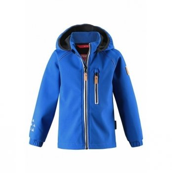 Куртка Reima SoftShell Vantti Синий 521569-6680