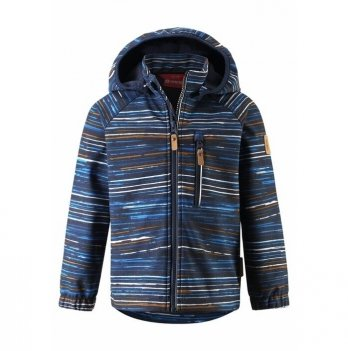 Куртка Reima SoftShell Vantti Темно-синий 521569.9-6981