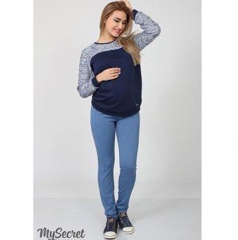 Брюки трикотажные для беременных MySecret Vogue light TR-17.013 джинсовый
