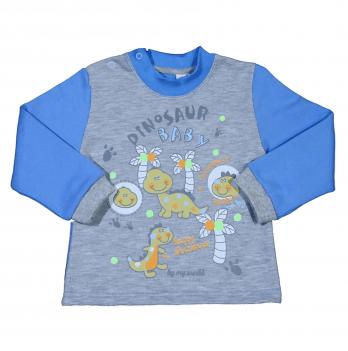 Джемпер для мальчика Мій Світ Динозавр, антрацит