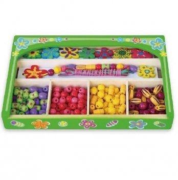 Набор для творчества Viga Toys Ожерелье Цветы 52730