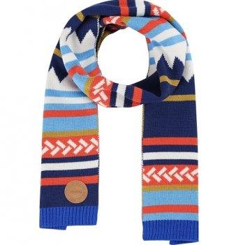 Шарф детский Virkku Reima 528642-6761 темно-синий/оранжевый