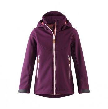 Куртка Reima SoftShell Vandra Темно-бордовый 531414-4960