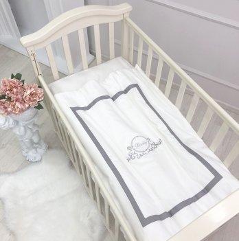 Сменный комплект постельного белья Маленькая Соня Belissimo серый 3 предмета