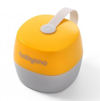 Контейнер для соски Natural nursing BabyOno 535/03 желтый