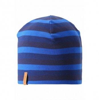 Шапка детская двусторонняя Tanssi Reima 538056.9-6982 темно-синий