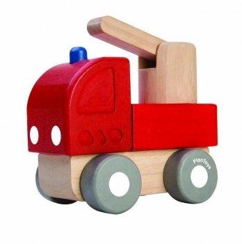 Деревянная игрушка PlanToys® Пожарная мини-машина