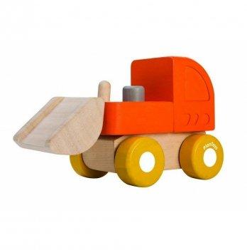 Деревянная игрушка PlanToys® Мини - бульдозер