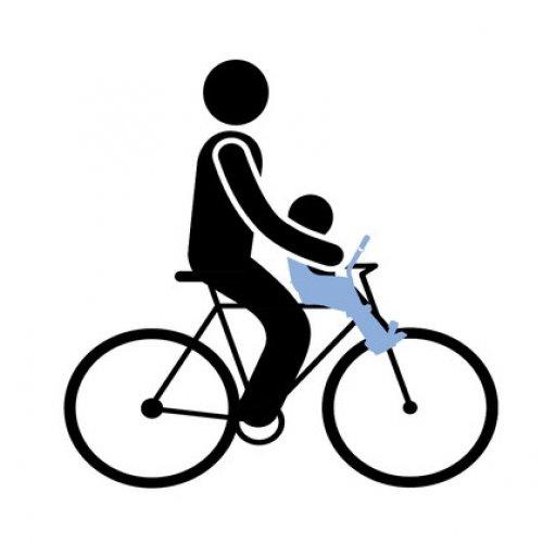 Детское велосипедное сиденье Thule Yepp Mini, на руль, White