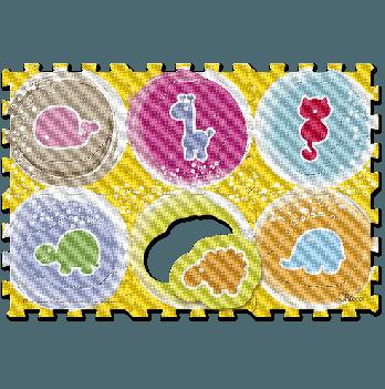Коврик - мозаика Животные Chicco 07162.00