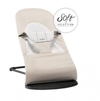 Кресло-шезлонг BabyBjorn Balance Soft Бежевый 005083