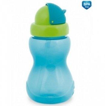 Поильник с трубочкой Canpol babies, синий