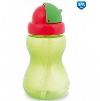 Поильник с трубочкой Canpol babies, зеленый