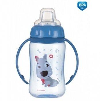Тренировочная кружка с силиконовым носиком Canpol babies - Cute Animals, песик