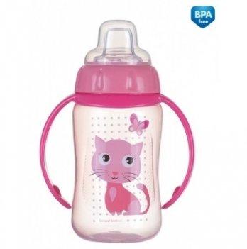 Тренировочная кружка с силиконовым носиком Canpol babies - Cute Animals, котик