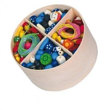 Игрушка Viga Toys Деревянные бусинки 56002